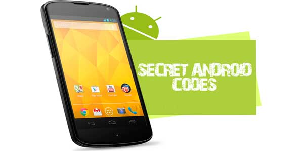 Secret_Android_codes