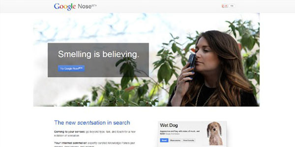 Google_Nose_April_Fool_day
