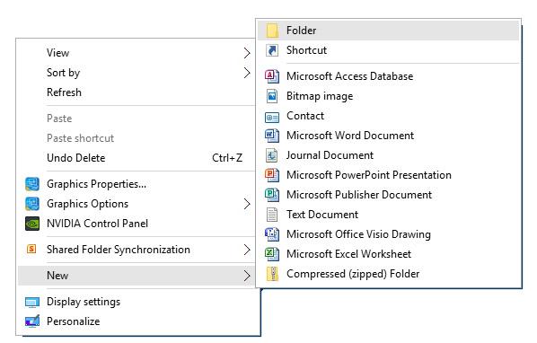 GodMode_Create_Folder
