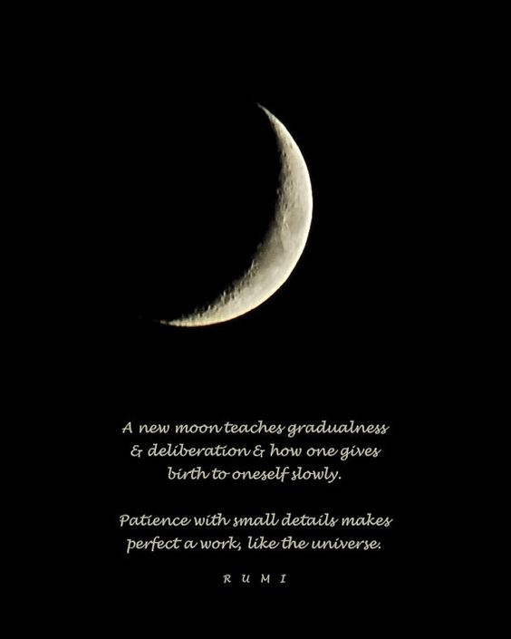 a new moon teaches