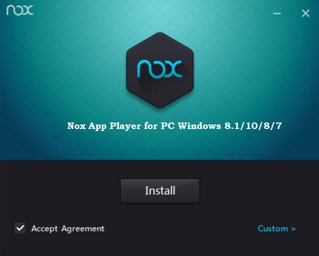Nox app player emulator for PC for gamers